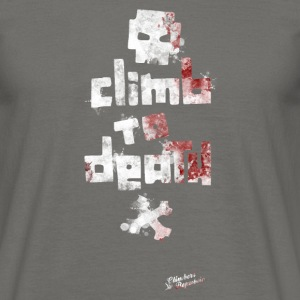 Climb to death Tee shirts - T-shirt Homme