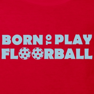 Born to play Floorball T-shirts - Organic børne shirt