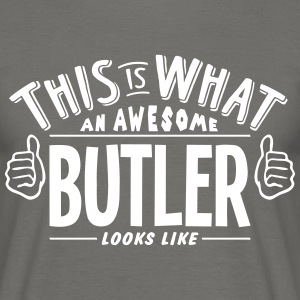 awesome butler looks like pro design - Men's T-Shirt