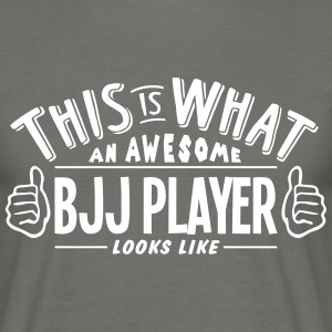 awesome bjj player looks like pro design - Men's T-Shirt