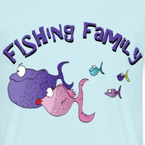 fishing family Tee shirts - T-shirt Homme