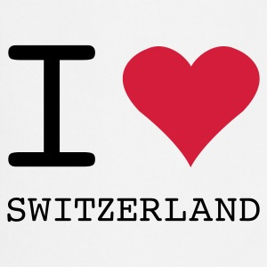 I LOVE SWITZERLAND - Forklæde