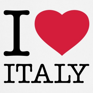 I LOVE ITALY - Tablier de cuisine