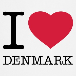 I LOVE DENMARK - Tablier de cuisine