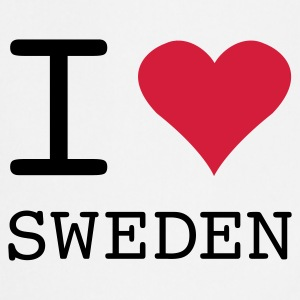 I LOVE SWEDEN - Cooking Apron