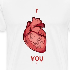 I Heart You - Men's Premium T-Shirt