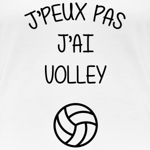 Volleyball / Volleyeur / Volley / Volley-ball Tee shirts - T-shirt Premium Femme