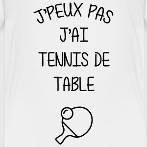 Tennis de table / Sport / Ping-Pong / J'peux pas Shirts - Teenage Premium T-Shirt