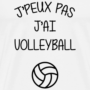 Volleyball / Volleyeur / Volley / Volley-ball Tee shirts - T-shirt Premium Homme