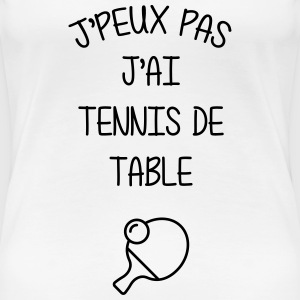Tennis de table / Pongiste / Ping-pong / Ping pong Tee shirts - T-shirt Premium Femme