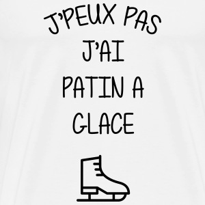 Patinage / Patineur / Patinoire / Sport / Glace Tee shirts - T-shirt Premium Homme