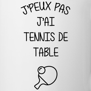 Tennis de table / Sport / Ping-Pong / J'peux pas Mugs & Drinkware - Mug