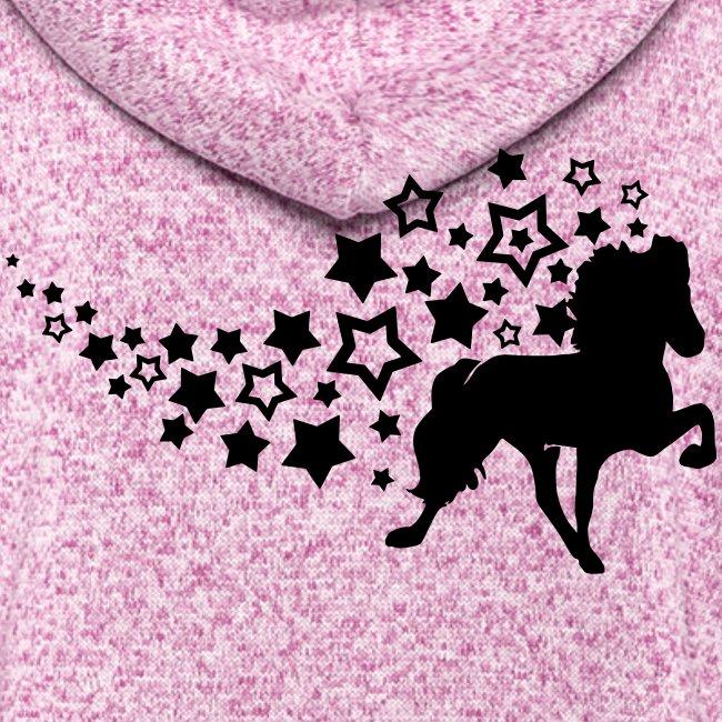 Sternentölter Damen Strickfleece