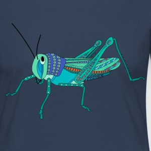 Blue grasshopper t-shirt for women - Women's Premium Longsleeve Shirt