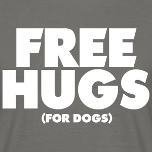 Free Hugs For Dogs - Männer T-Shirt
