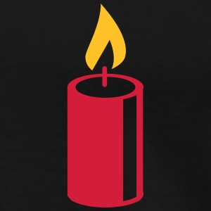 A burning candle T-Shirts - Men's Premium T-Shirt