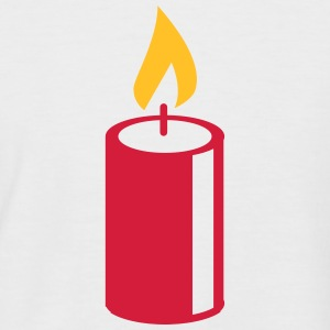A burning candle T-Shirts - Men's Baseball T-Shirt