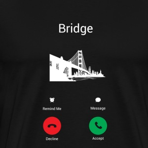 Bridge call T-Shirts - Men's Premium T-Shirt