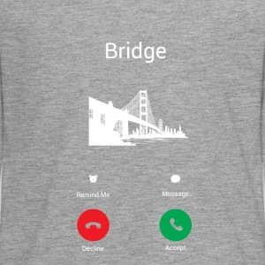 Bridge call Long Sleeve Shirts - Teenagers' Premium Longsleeve Shirt