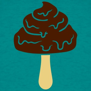 design chocolate ice stilk spiser suge velsmagende T-shirts - Herre-T-shirt