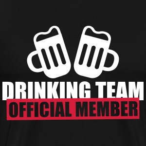 Drinking team - Official member - Men's Premium T-Shirt