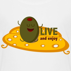oLIVE and enjoy T-shirts - Børne premium T-shirt