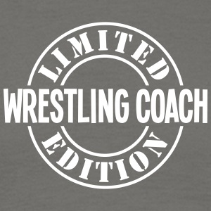wrestling coach limited edition stamp co - Men's T-Shirt