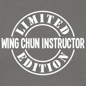wing chun instructor limited edition sta - Men's T-Shirt