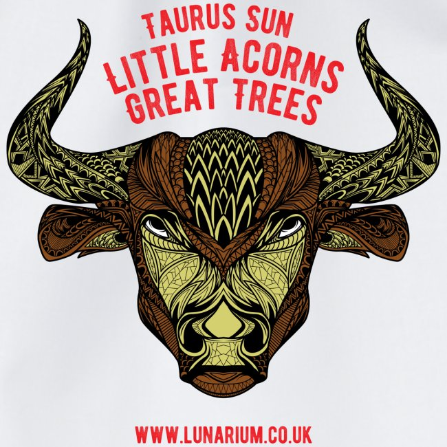 Taurus Sun Drawstring Bag