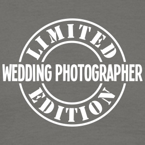 wedding photographer limited edition sta - Men's T-Shirt