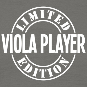 viola player limited edition stamp - Men's T-Shirt