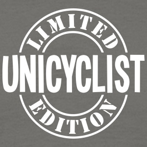 unicyclist limited edition stamp - Men's T-Shirt
