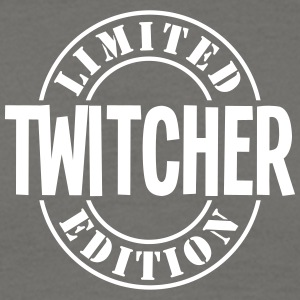 twitcher limited edition stamp - Men's T-Shirt