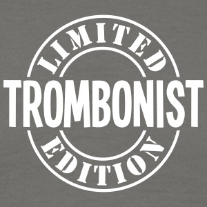 trombonist limited edition stamp - Men's T-Shirt