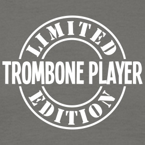 trombone player limited edition stamp co - Men's T-Shirt