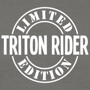 triton rider limited edition stamp - Men's T-Shirt