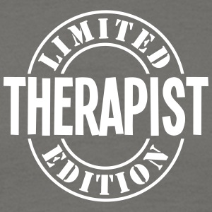 therapist limited edition stamp - Men's T-Shirt