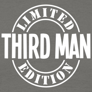 third man limited edition stamp - Men's T-Shirt