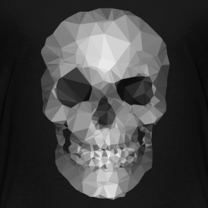 Polygons skull T-shirts - Teenager premium T-shirt