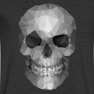 Polygons skull T-Shirts - Men's V-Neck T-Shirt