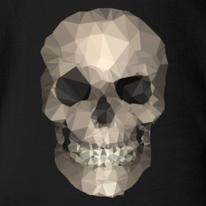 Polygons skull goldy Bodys Bébés - Body Bébé