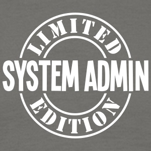 system admin limited edition stamp - Men's T-Shirt