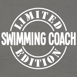 swimming coach limited edition stamp cop - Men's T-Shirt