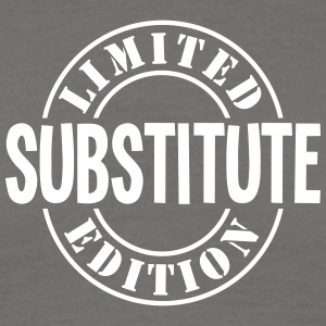 substitute limited edition stamp - Men's T-Shirt