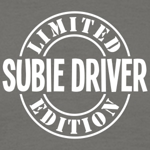 subie driver limited edition stamp - Men's T-Shirt