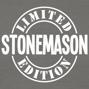 stonemason limited edition stamp - Men's T-Shirt