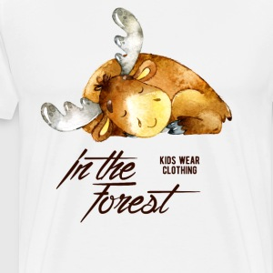 IN THE FOREST #5 - B T-Shirts - Männer Premium T-Shirt