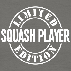 squash player limited edition stamp - Men's T-Shirt