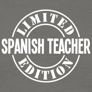 spanish teacher limited edition stamp co - Men's T-Shirt