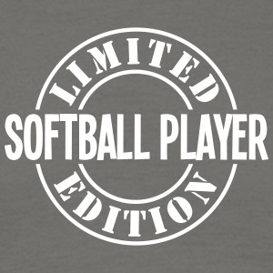 softball player limited edition stamp co - Men's T-Shirt